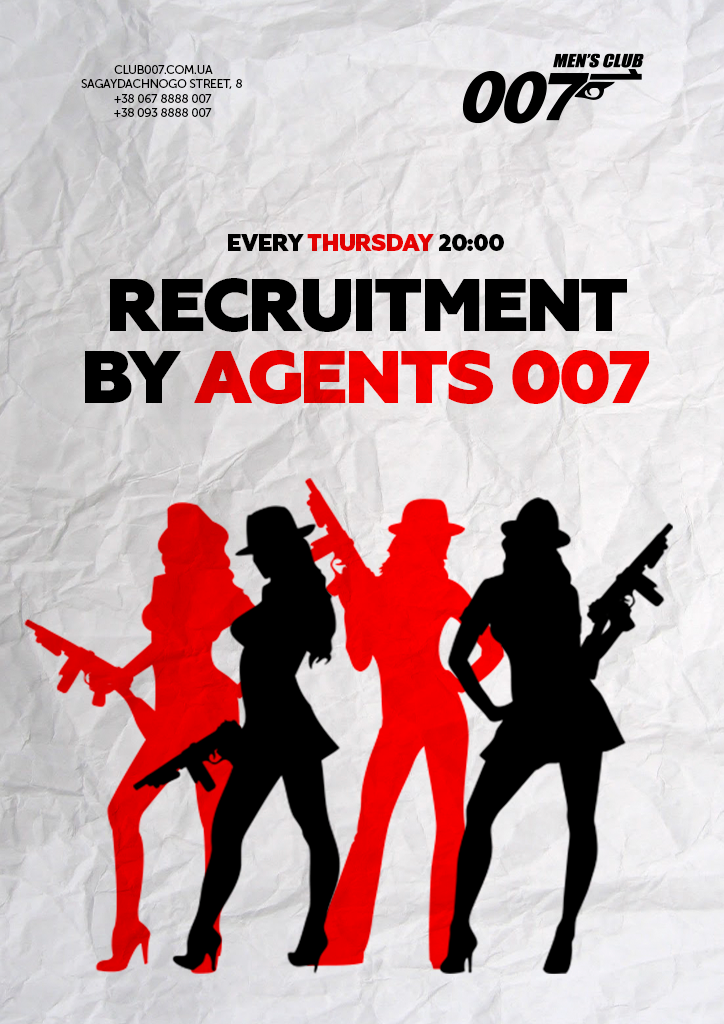 Recruitment by Agents 007